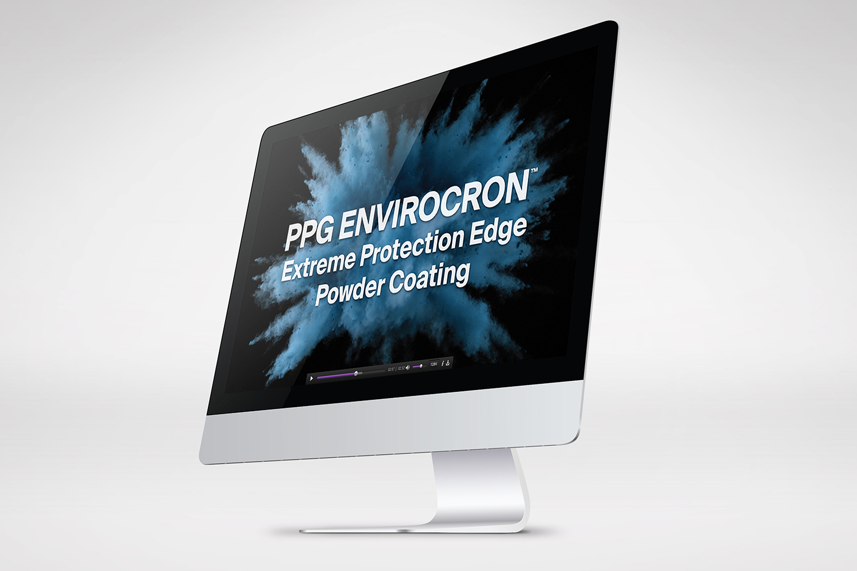 PPG Envirocron video screen